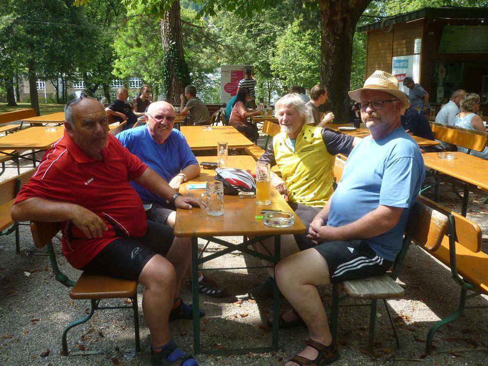 Heidenheimer Stadträte zu Besuch bei Geislinger Kollegen