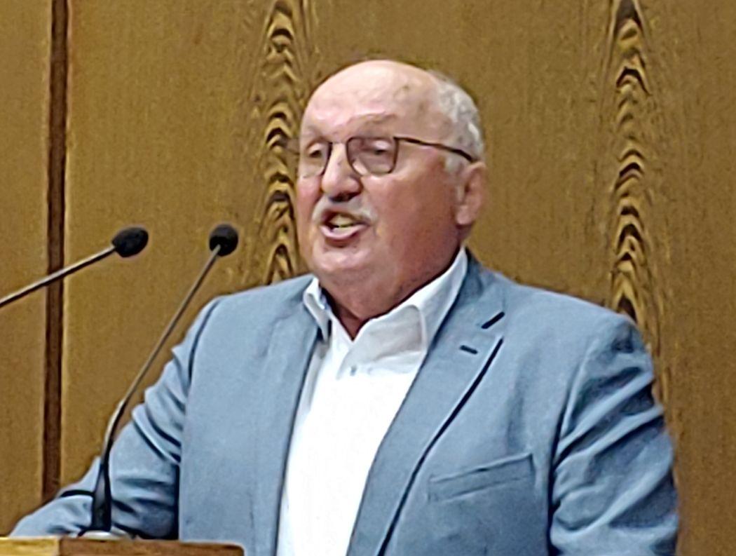 Rudi Neidlein bei der Rede zum Haushalt 2019
