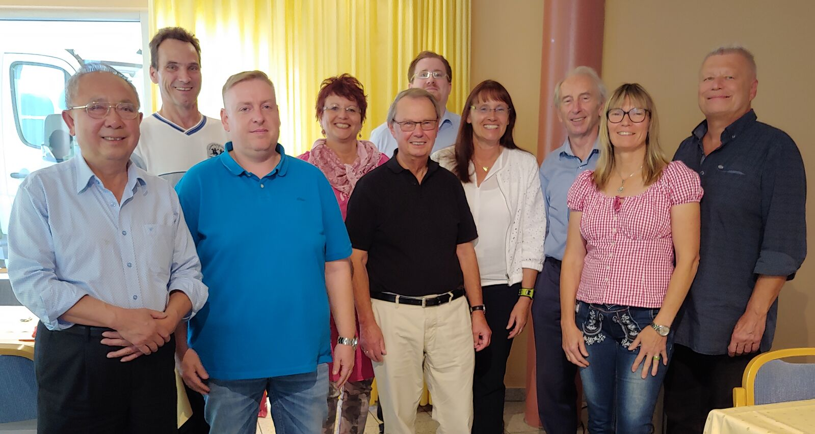Der neue SPD-Ortsvereinsvorstand