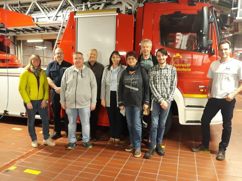 SPD vor Ort bei der Feuerwehr