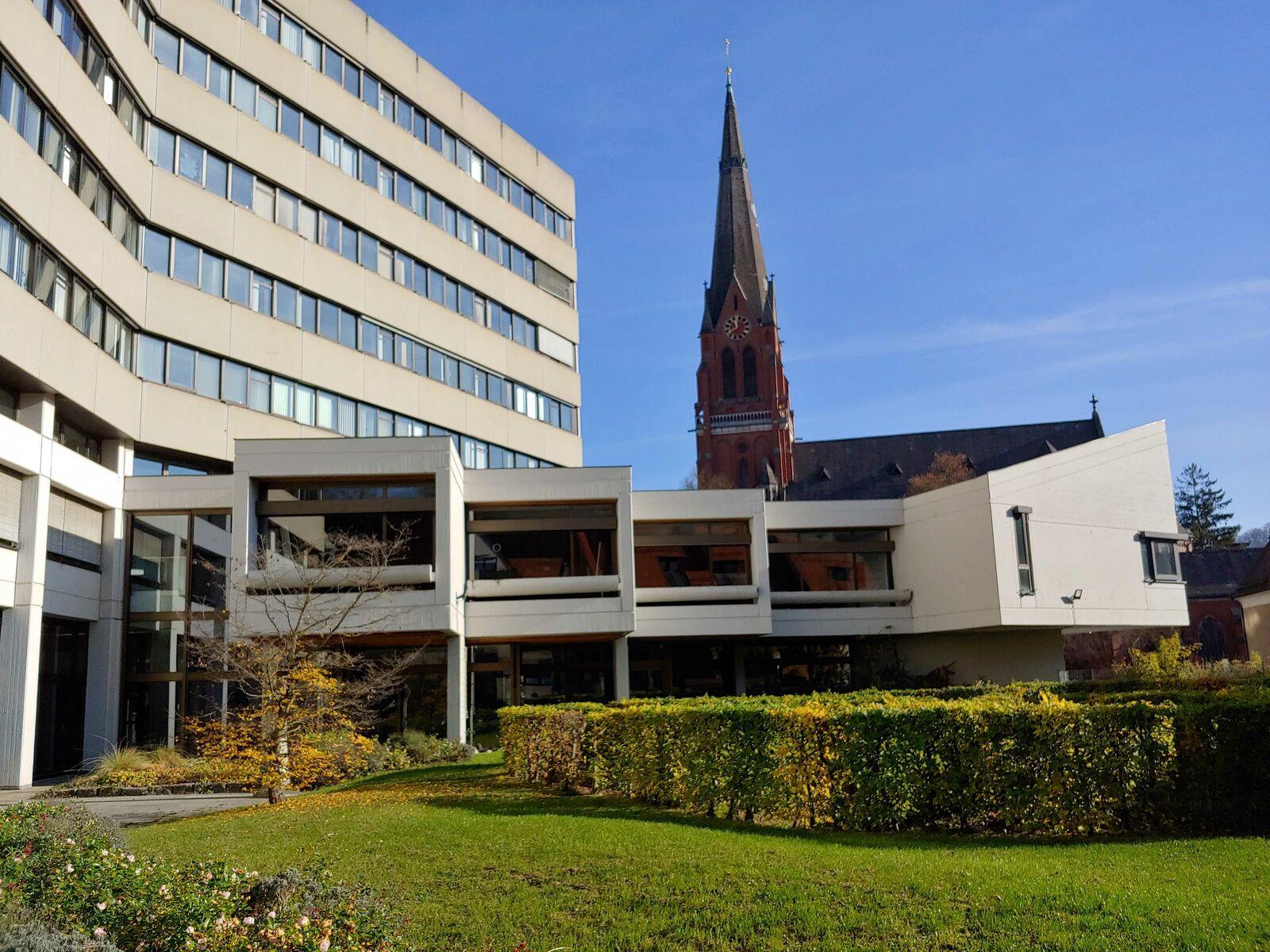 Das Rathaus in Heidenheim