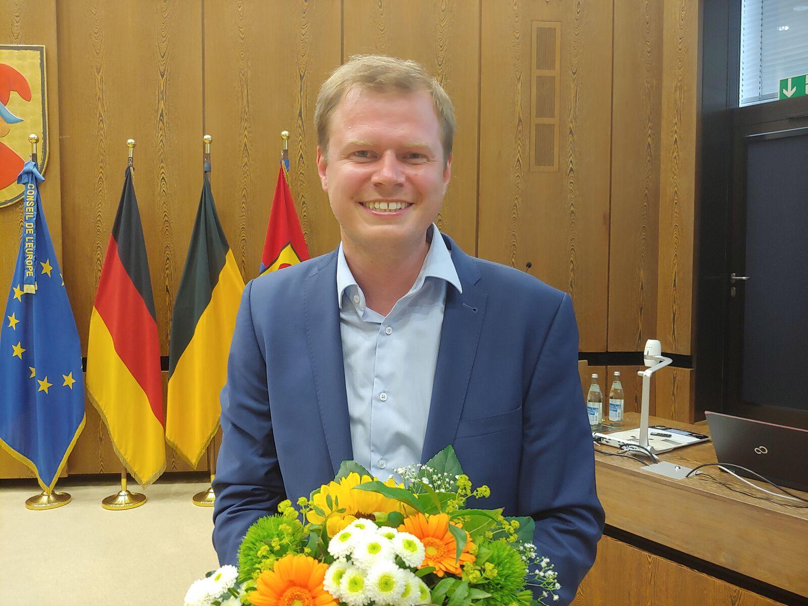 Michael Salomo wird neuer Oberbürgermeister von Heidenheim